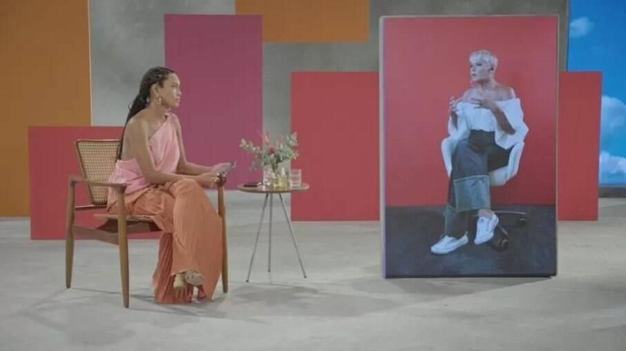 Xuxa foi entrevistada por Taís Araújo no programa 'Superbonita