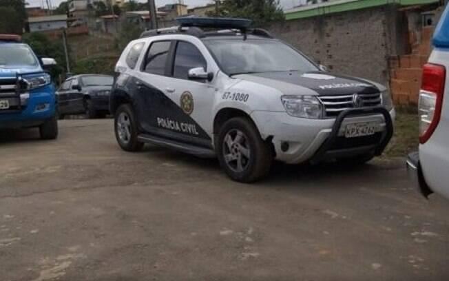 Ação da polícia civil foi realizada na cidade de Paraíba do Sul, no estado do Rio