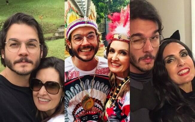 relação de Túlio Gadelha com Fátima Bernardes trouxe à tona o melhor da apresentadora