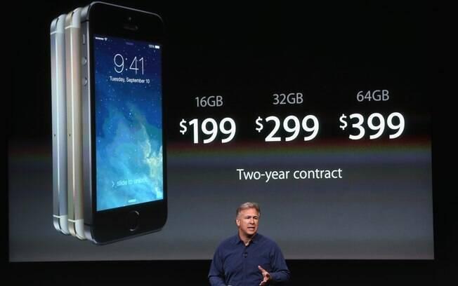 iPhone 5S é lançado nos EUA
