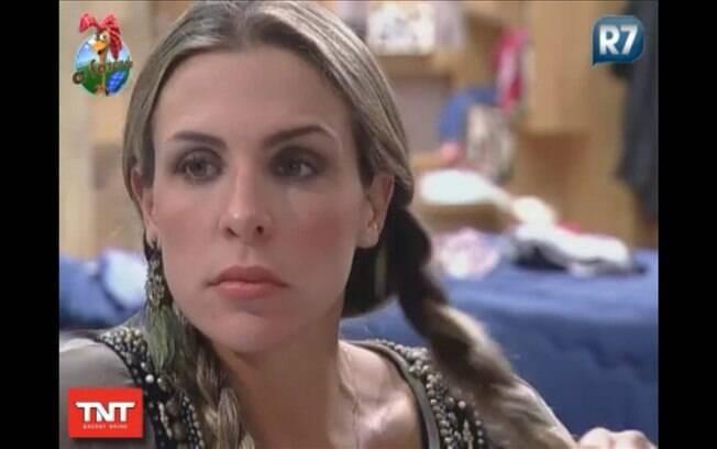 Joana manda recado para ex-peão João Kleber
