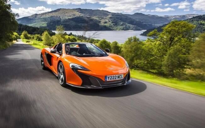De acordo com a polícia da Alemanha, o animal confundiu a McLaren com um de seus alimentos favoritos: a cenoura