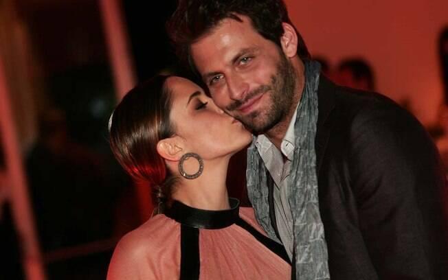 Fernanda Vasconcellos e o namorado, Henri Castelli