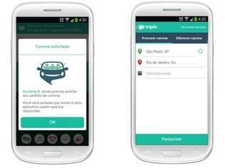 Disponível para Android e iOS e gratuito, Tripda é aplicativo de carona que conecta motoristas e passageiros