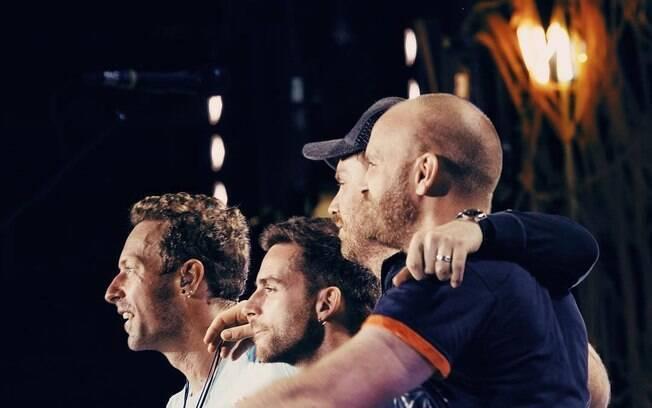 Coldplay é uma das poucas bandas ativas na memória dos brasileiros