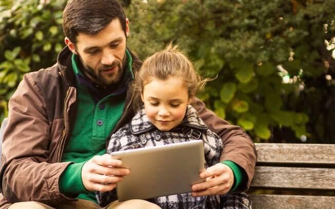 Filhos: uma dica de ouro é jamais disputar a atenção dele com as crianças