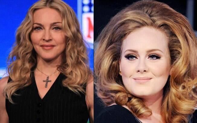 Madonna sai em defesa de Adele