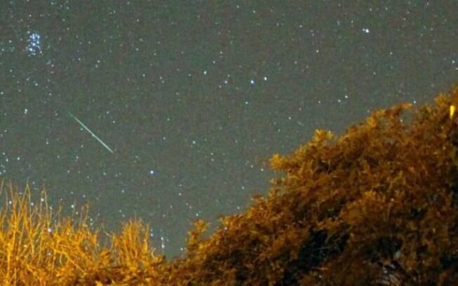 Ausência de brilho lunar devará favorecer a observação da chuva de meteoros Perseidas neste ano