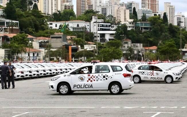 Governo do Estado de São Paulo comprou 105 viaturas blindadas