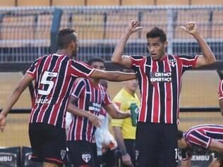 Kardec deu a vitória ao São Paulo em cima do seu ex-time aos 43 minutos do segundo tempo