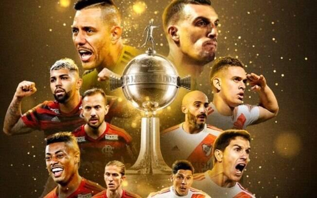 Flamengo e River Plate disputam a taça da Libertadores 2019