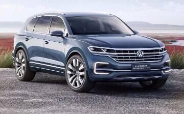 VW T-Prime Concept antecipa SUV de luxo de 5 metros de comprimento