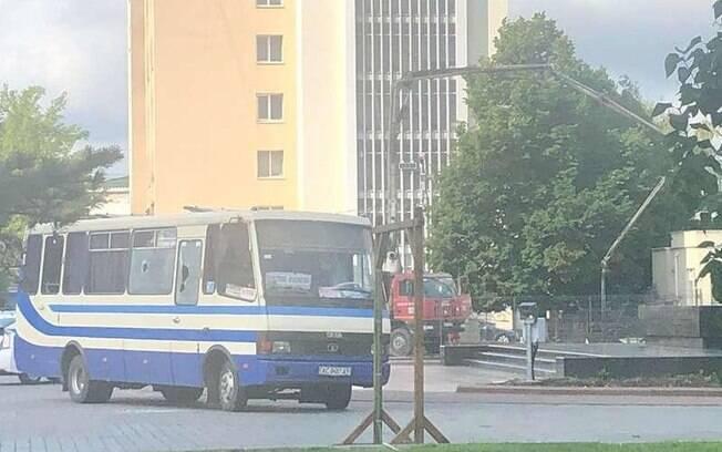 O sequestro aconteceu na cidade de Lutsk e durou mais de 12 horas