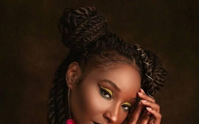 penteado de tranças africanas