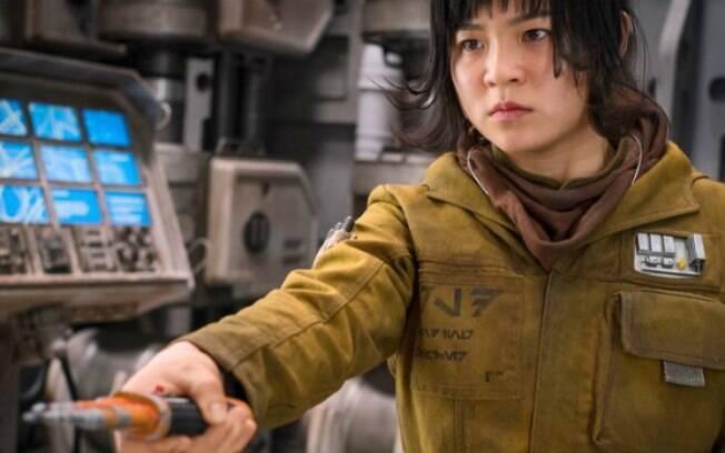 A atriz de Star Wars foi alvo de comentários ofensivos