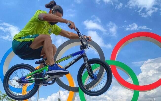 Renato Rezende na Vila Olímpica