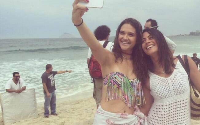 Juliana Paiva e Carol Castro
