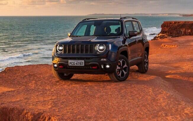 Jeep Renegade azul