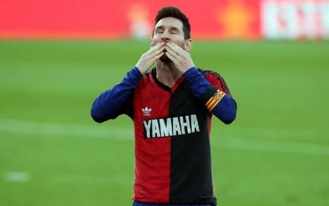 Messi agradece mensagem de Pel: 'Essas palavras significam muito vindo de algum to grande'