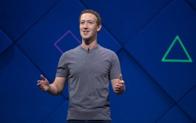 O CEO do Facebook, Mark Zuckerberg, durante a F8, conferência da empresa voltada para os desenvolvedores