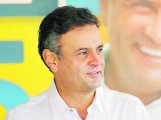 Aécio. Candidato tucano usou programas de TV e rádio para rebater acusações feitas pelos petistas
