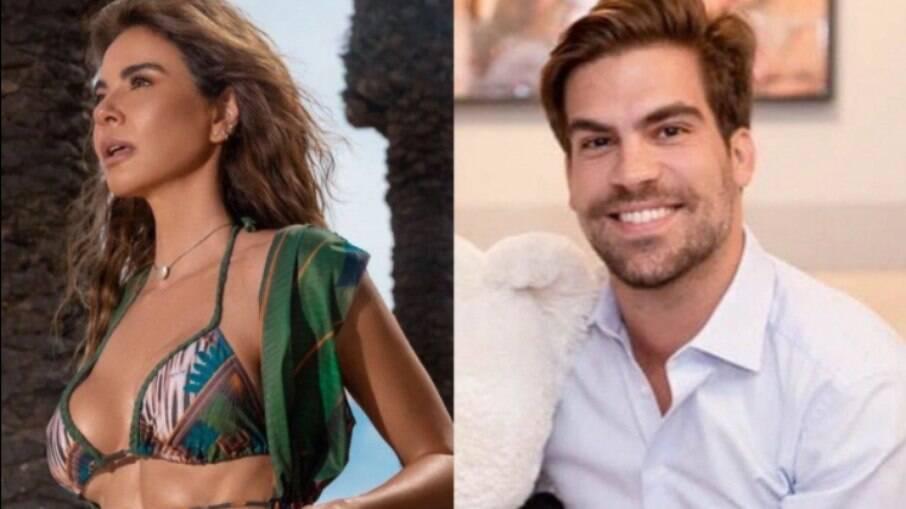 Luciana Gimenez está namorando o empresário Renato Breia