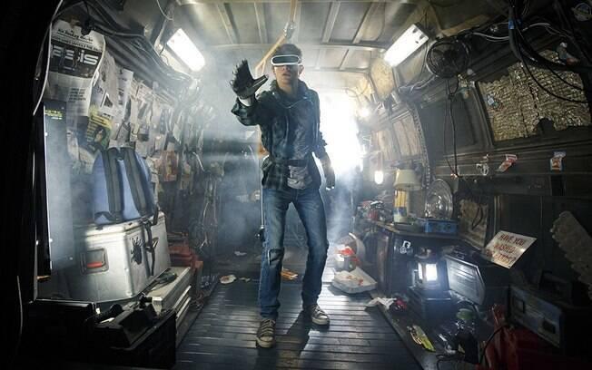 Tye Sheridan em cena de Jogador nº 1, que estreia nesta quinta-feira (29) nos cinemas brasileiros