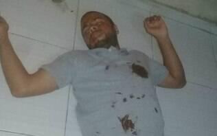Foragido tira foto fingindo estar morto para despistar a polícia de Recife