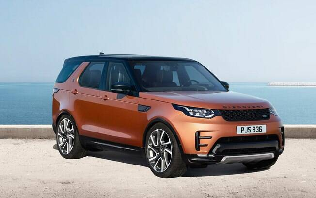 A partir de R$ 363 mil, o totalmente novo Land Rover Discovery será a opção entre os Range Rover Evoque e oSport