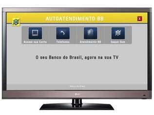 TVs conectadas da LG permitem acessar bancos por meio da internet