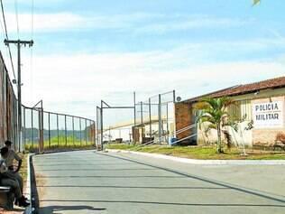 Nelson Hungria.  Penitenciária é a segunda do Estado a receber a tecnologia que bloqueia sinais digitais