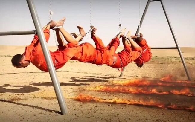Iraquianos são torturados e mortos pelo EI: Trump quer cortar petróleo para enfraquecer grupo