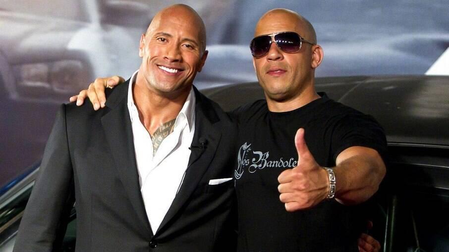 The Rock comenta sobre briga com Vin Diesel