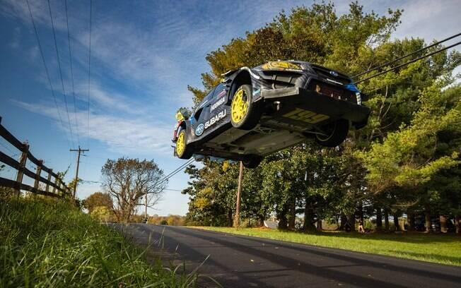 Subaru WRX STI recebeu preparação especial de fábrica para participar do vídeo Gymkhana 2020