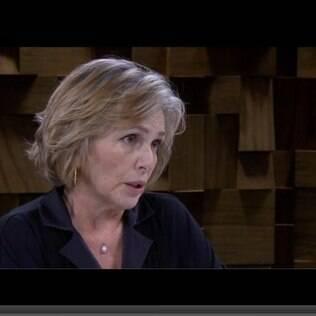 Irene Ravache fala com Marilia Gabriela sobre a luta do filho contra as drogas