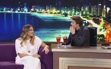 Sasha Meneghel  diz que já foi apaixonada por Júnior Lima