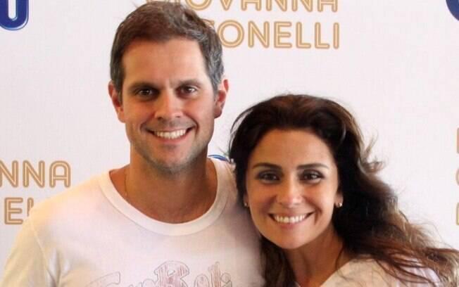 Giovanna Antonelli conheceu o atual marido, Leonardo Nogueira, nos bastidores de 'Viver à Vida', na Globo, onde ela atuou e ele dirigiu