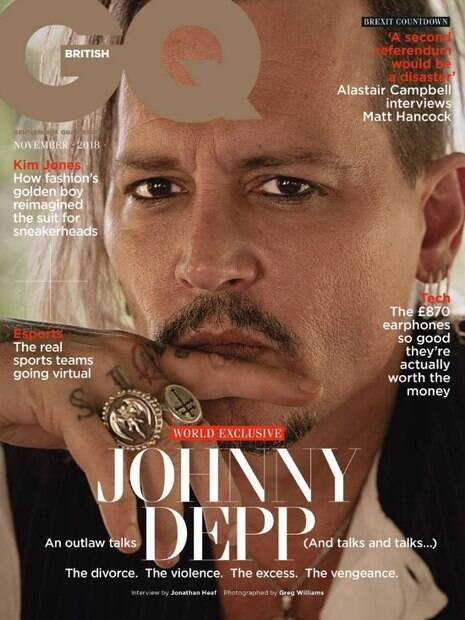 Johnny Depp chamou Hollywood de circo em entrevista à GQ