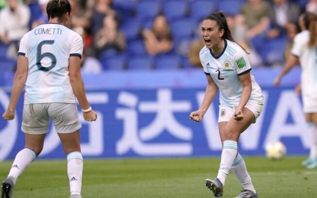 Argentina empatou com o Japão em 0 a 0