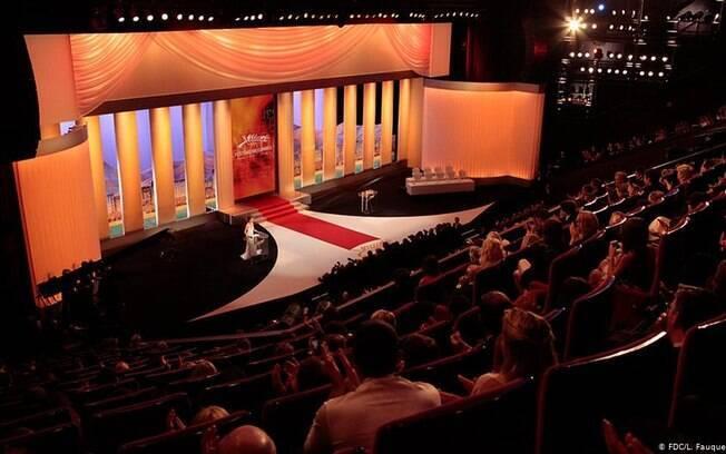Palco do Festival de Cannes
