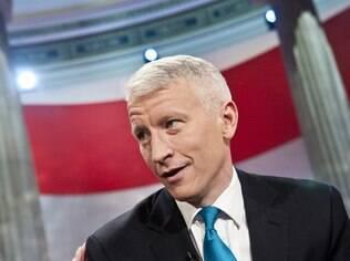 Anderson Cooper, o âncora da TV americana cuja popularidade alavancou os nomes Anderson e Cooper para meninos nos EUA