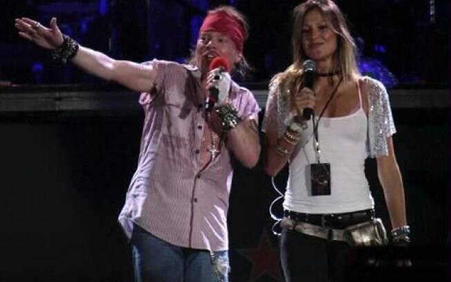 Ellen Jabour conheceu Axl Rose no Brasil e seguiu em turnê com o músico pela América Latina