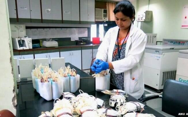 Banco de sangue do Rotary Club é o maior da Índia, mas país não tem agência central de coleta
