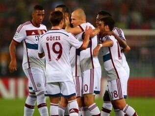 Bayern de Munique não perdoou a equipe italiana e aplicou um impiedoso 7 a 1, na capital italiana