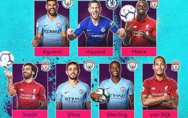 A Premier League abriu uma votação para escolher o melhor jogador da temporada