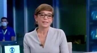 Renata Lo Prete chora ao falar sobre morte de colega: 'Muito querido'