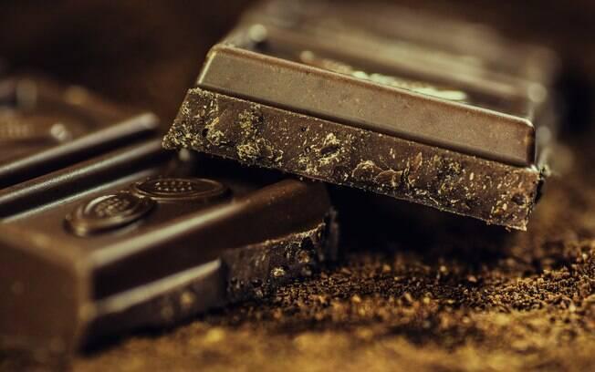 O chocolate 70% contém gorduras que podem pesar na balança