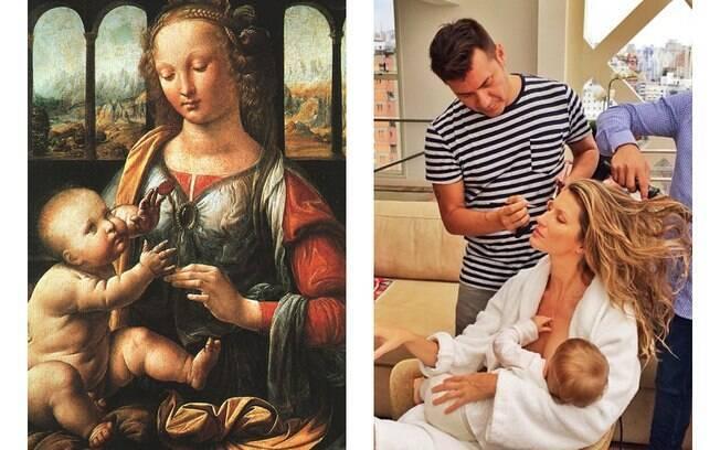 Confira as fotos dos famosos que parecem obras de arte