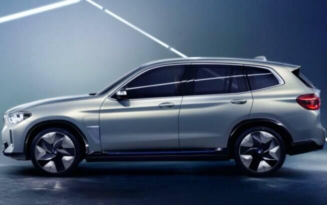 BMW iX3 terá o primeiro SUV totalmente elétrico da fabricante a ser produzido em série