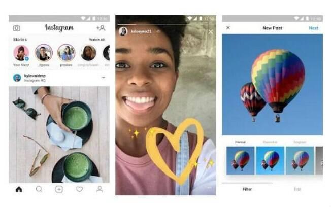 Compartilhamento de vídeos e envio de mensagens no Direct não 'rodam' na versão leve do Instagram